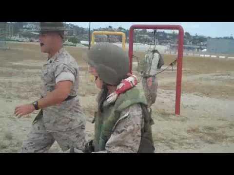 Educators Workshop Bayonet Assault Course