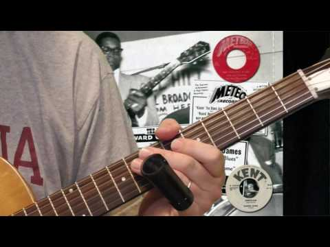 Elmore James Guitar Lesson - Part I