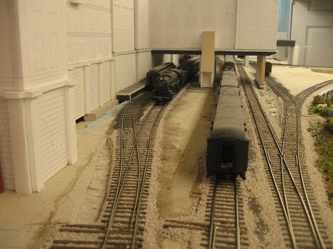 My railroad: Passenger terminal operations in a limited space
