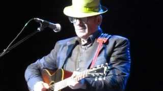 "Elvis Costello - ""Jimmie Standing in the Rain"" (with Intro, and ""Brother Can You Spare a Dime?"""