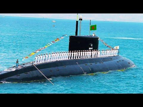 ভারত বার্মার উদ্বেগ ইন একশান Bangladesh Navy Commissioning Submarines in 12 March, 2017
