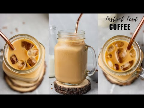 HOW TO MAKE ICED COFFEE (QUICK AND EASY RECIPE)