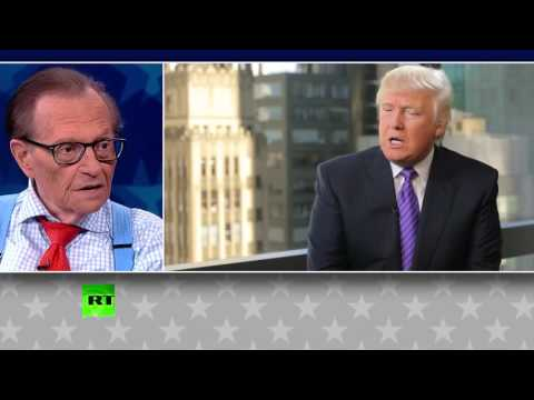 Larry King: Clinton is not a criminal & Trump is really not a buffoon, I know them for years