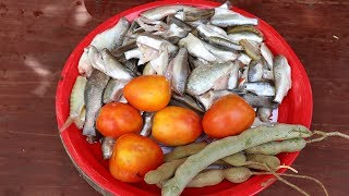 Awesome Cooking fish Soup With Tamarind Delicious Recipes -  Eating Food Delicious  - Cooking Skill