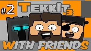 Minecraft: Tekkit With Friends Ep.2 - Energy Condenser!