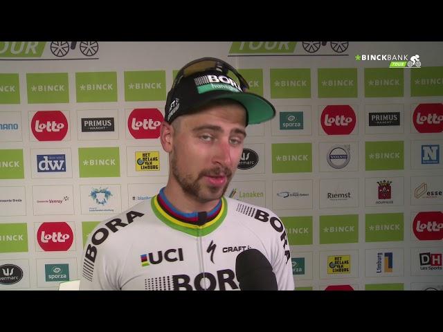 """BinckBank Tour - Peter Sagan: """"I am young and beautiful"""""""