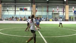 Liberty Soccer Girls Indoor Game 1 002