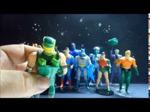 DC Super Powers action figures by Kenner