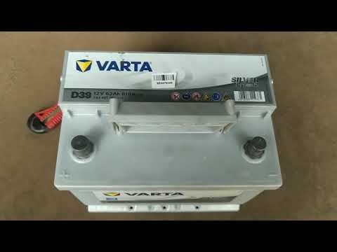 Автомобильный аккумулятор Varta Silver Dynamic 63А (+/-) D39 (610EN) (563401061)
