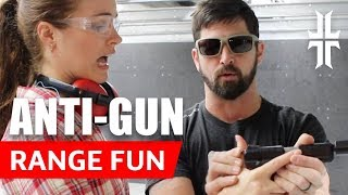 John takes an ANTI-GUNNER to the Range