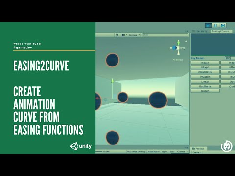 Easing2Curve: An editor window to create animation curve