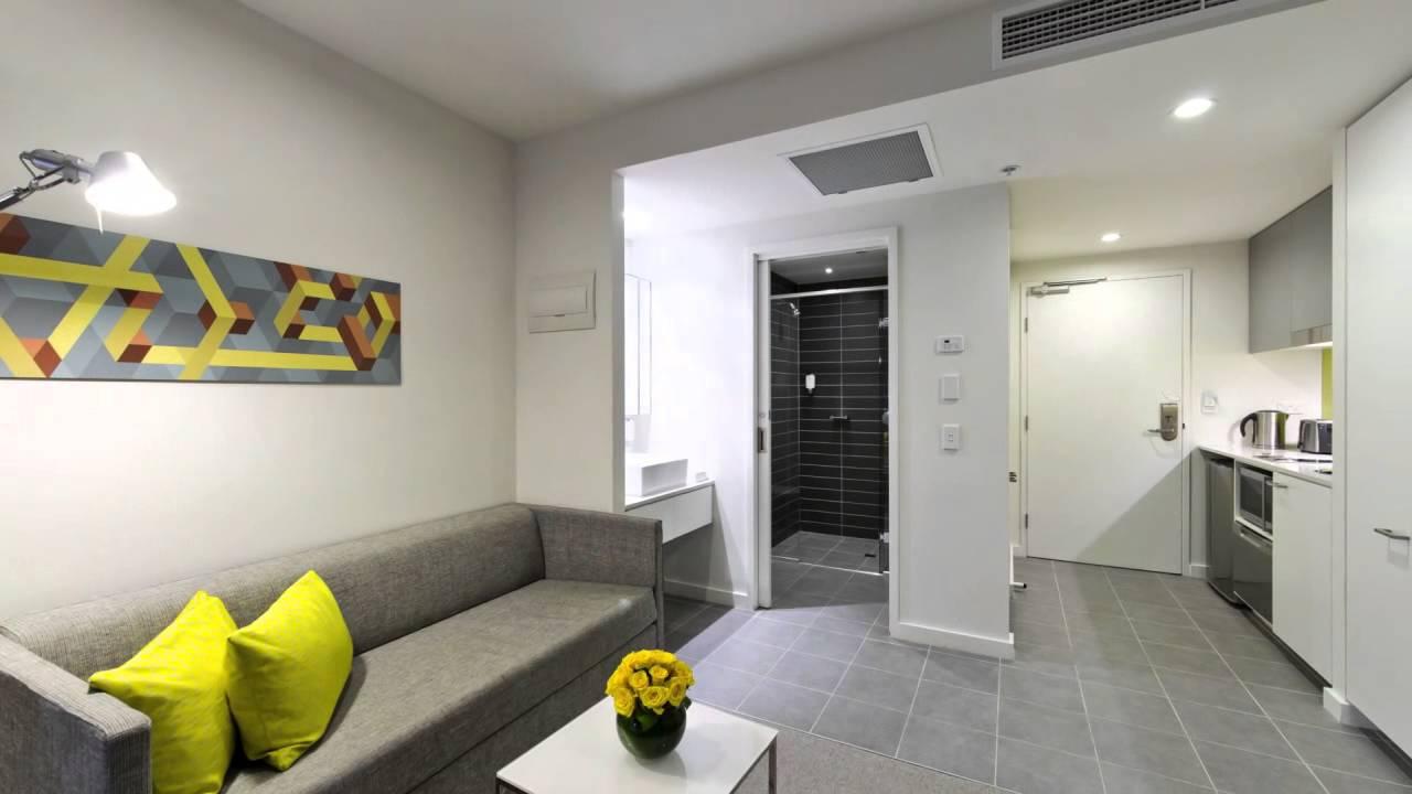 studio executive citadines on bourke melbourne youtube. Black Bedroom Furniture Sets. Home Design Ideas