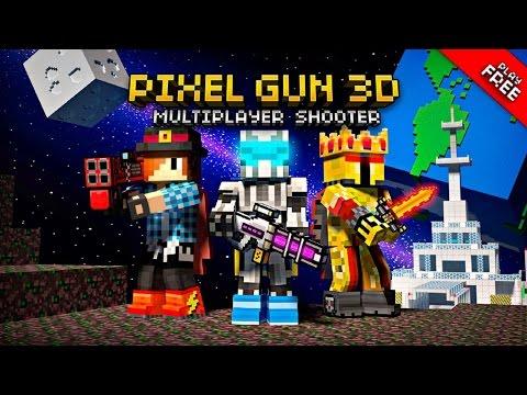 Онлайн игра с реальными людьми. PixelGun