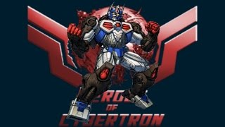 "Optimus Primal Transformers ""Heroes of Cybertron"" Video"