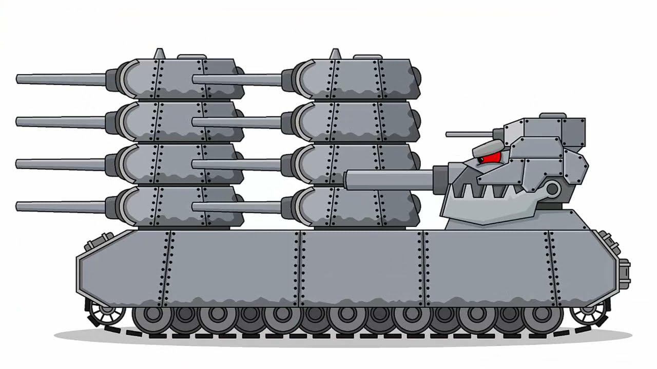 Как Нарисовать Танк Пушкавоз - для Мультики про танки