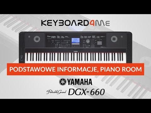 Yamaha DGX-660 - Podstawowe informacje, Piano Room