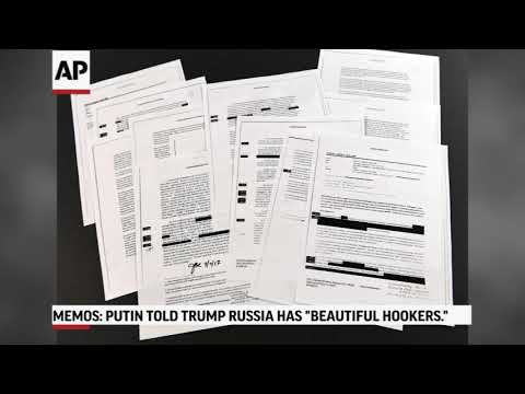 Memos: Trump Said Putin Bragged About Hookers