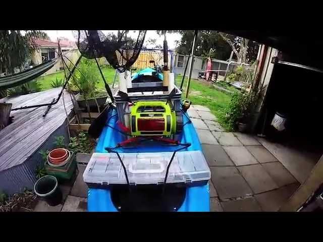Hobie Quest 13 Fishing Kayak Setup.