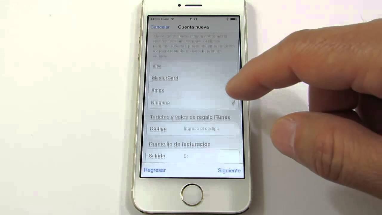Crear id apple gratis para iphone