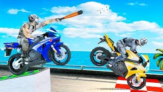 Bike Attack Racing Games 2018: Xtreme Bike Fight - Gameplay Android free games