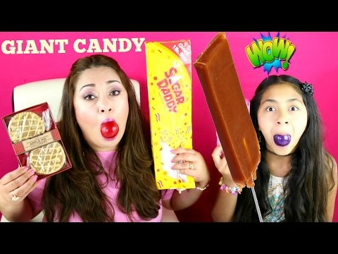 Giant Sugar Daddy Apple Pie & Ice Cream Lollipops Nerd Gumballs Candy| B2cutecupcakes