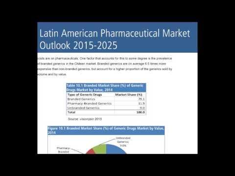Latin American Pharmaceutical Market Outlook 2015-2025