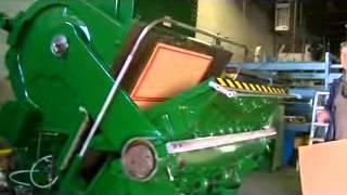 Thompson 44x66 die cutter