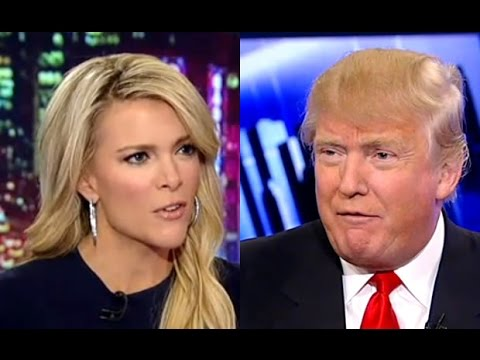 Donald Trump Megan Kelly Bimbo, Blood Comments Power Presidential Run