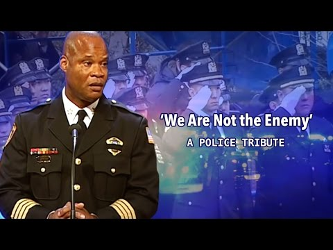 'We are not the enemy'