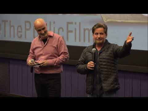 """The Public"" Q & A Session With Emilio Estevez And Ryan Dowd At Cinemark Tinseltown USA"