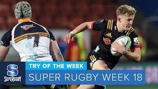 TRY OF THE WEEK: 2018 Super Rugby Week 18