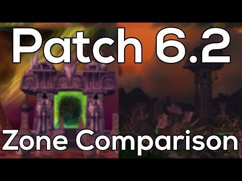 Hellfire Peninsula & Tanaan Jungle - WoD Patch 6.2 Vs TBC Comparison