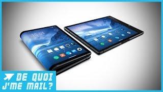 2019 : l'arrivée des smartphones pliables ? DQJMM (1/2)