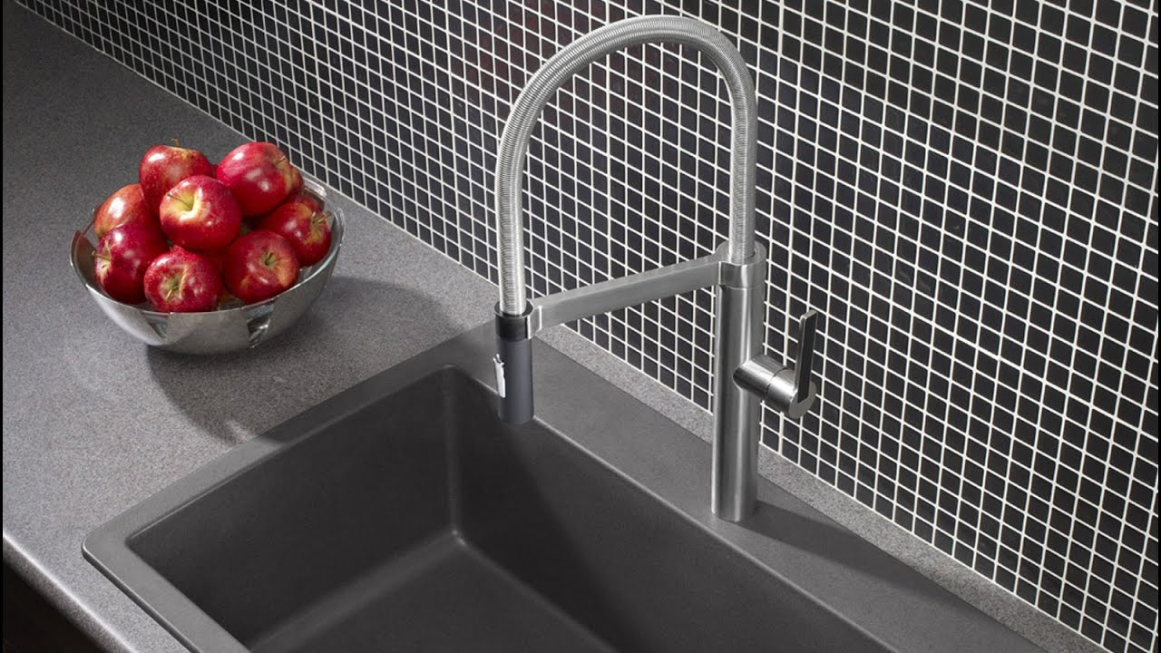 robinet de cuisine blanco culina anglais youtube. Black Bedroom Furniture Sets. Home Design Ideas