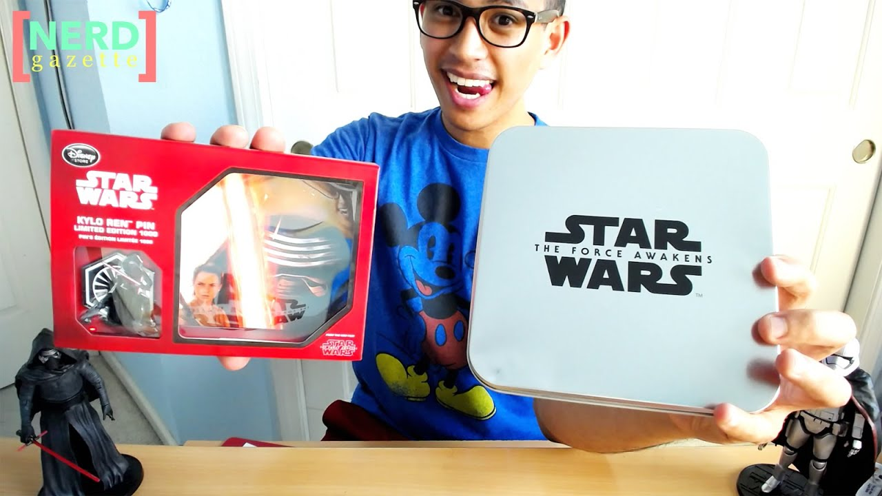Disney Pins Limited Edition Star Wars Force Awakens