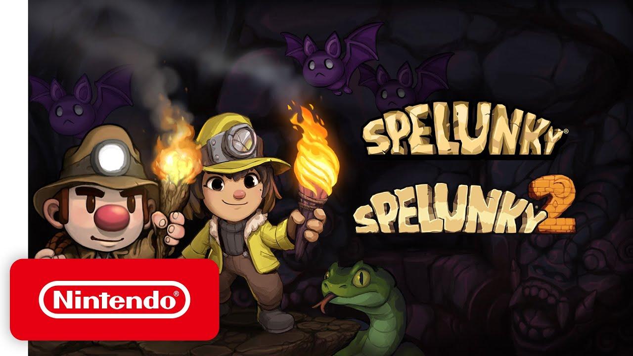 Έρχονται στο Switch τα Spelunky και Spelunky 2
