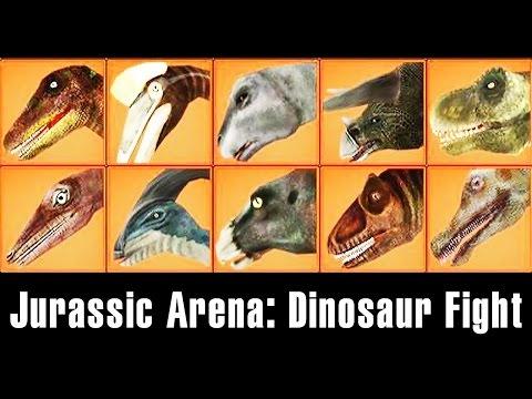 Jurassic Arena: Dinosaur Fight #2 - Triceratops, Parasaurolophus | Eftsei Gaming