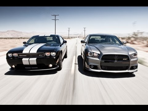 2012 Dodge Charger SRT8 vs 2011 Dodge Challenger SRT8 392 | Track ...