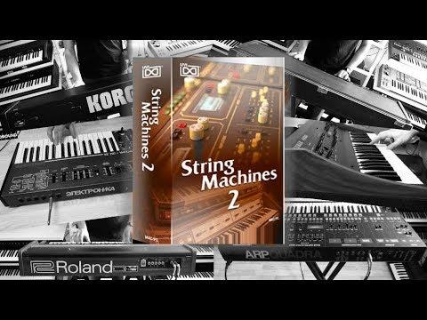 UVI String Machines 2 - 62 legendary analog stringmachines from the 70s and 80s - RetroSound