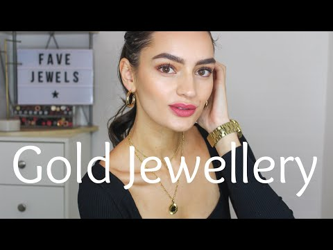 My Updated Gold Jewellery Collection: Favourite Pieces 2019 | Peexo