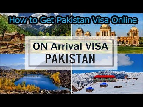 How To Get Pakistan Visa Online | Tourist Visa On Arrival #PakistanVisa #Evisa