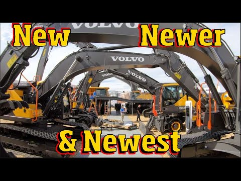 Volvos New Heavy Equipment At Conexpo 2020 4k