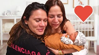 Our BABY MEETS His GRANDMA For First Time!! **EMOTIONAL** | The Royalty Family