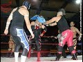 Villano V Jr, Imposible y Bombero Infernal vs Black Warrior, Eterno y Warrior Jr