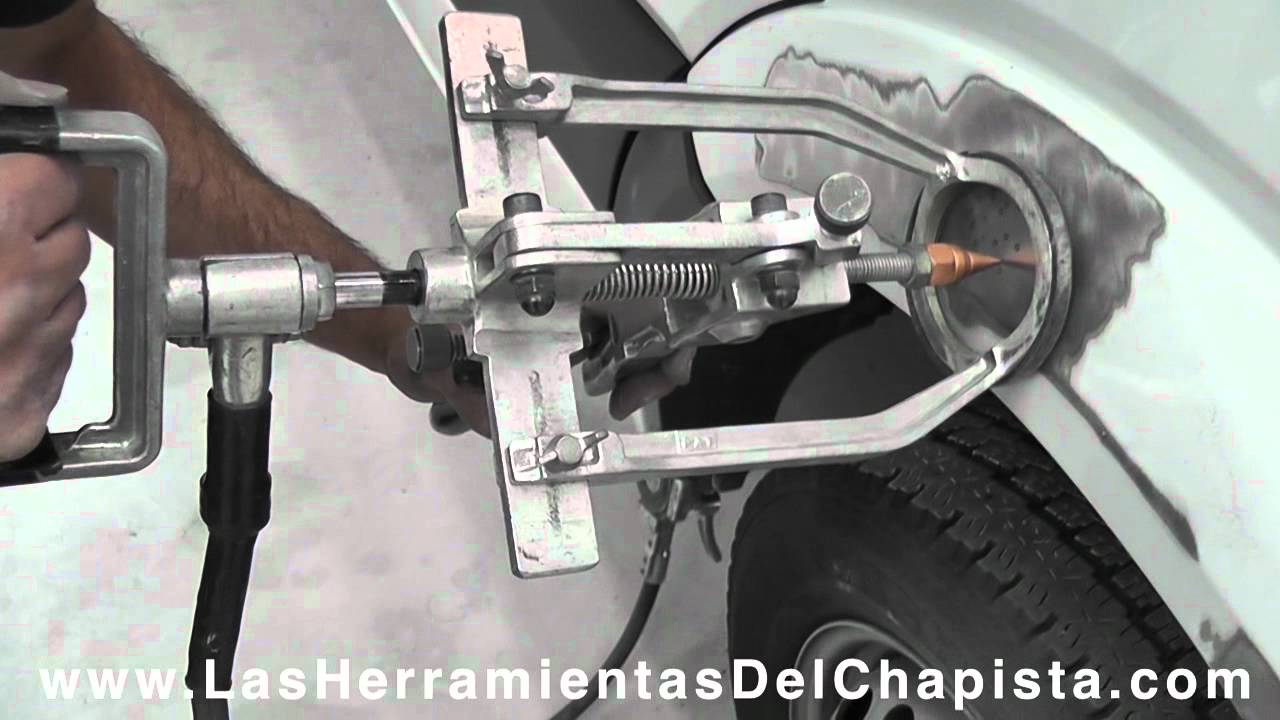 Zonfer Paintless Dent Lifter Karrosserie Hand Repair Tools