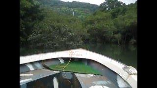 Over to Barki Waterfall in Motor Boat