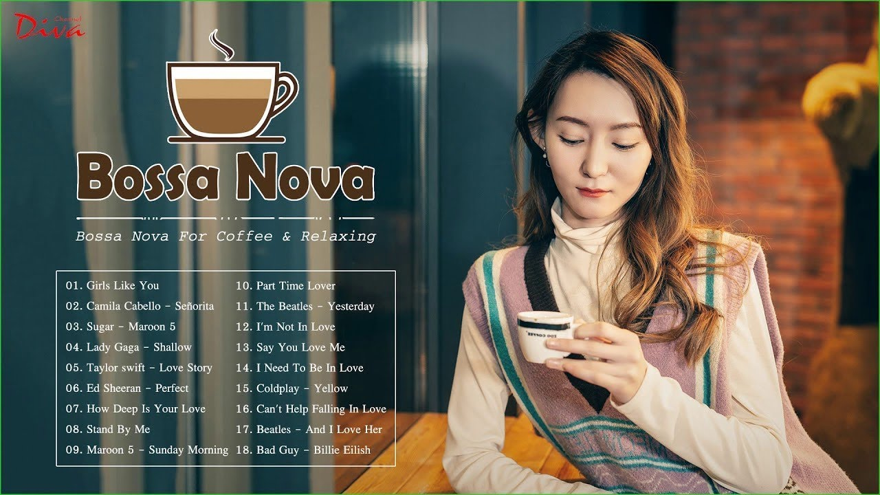Bossa Nova 2020   1 Hour Of Bossa Nova Covers   Bossa Nova For Coffee & Relaxing - YouTube