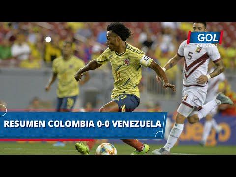 Colombia vs Venezuela (0 - 0): resumen y mejores acciones del partido