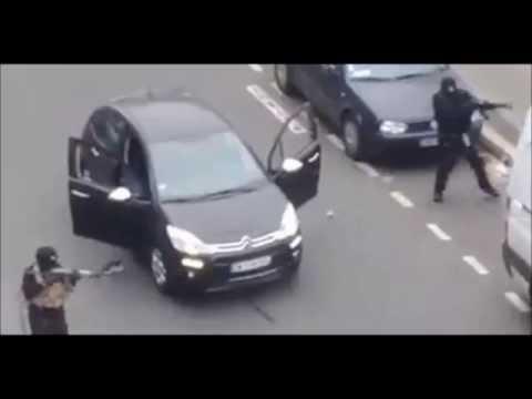 【フランス 銃撃 テロ】パリの新聞社「シャルリ・エブド」に武装した男が押し入り、銃撃戦 12人が死亡【Charlie Hebdo France】