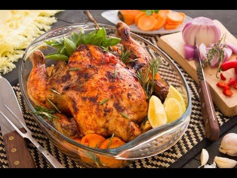 فراخ مشوية  بالصلصة الحارة + اجنحة دجاج بالصوص الحار - برنامج الكوكو ج1